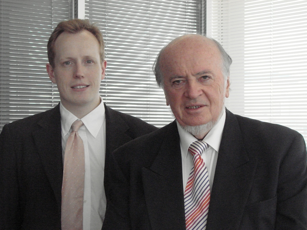 (Left to Right) Tom Cheetham and Jeffery Cheetham, SDI Limited